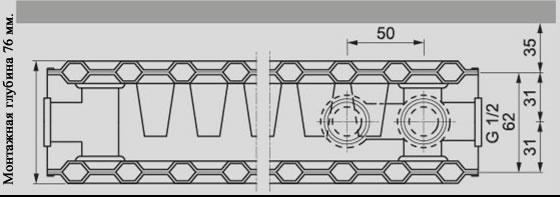 Универсальный стальной радиатор Viessmann тип 21